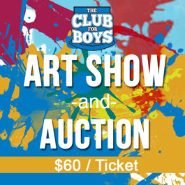 Art Auction - $60 Ticket