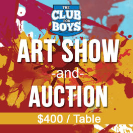 Art Auction - $400 Table