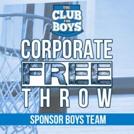 Corporate Free Throw - 3 Point Shot Sponsor - $500
