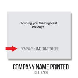 Company Name - Greeting Card