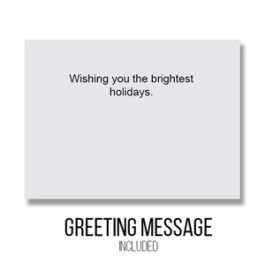 Greeting - Inside Card : Brightest Holidays