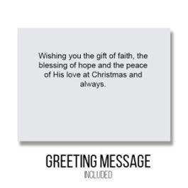 Greeting - Inside Card : Gift of Faith