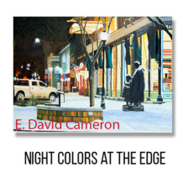Card - Night Colors at The Edge