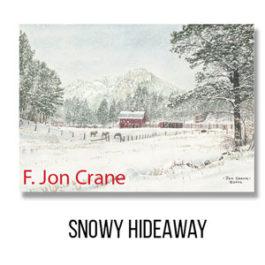 Card - Snowy Hideaway