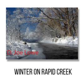 Card - Winter on Rapid Creek