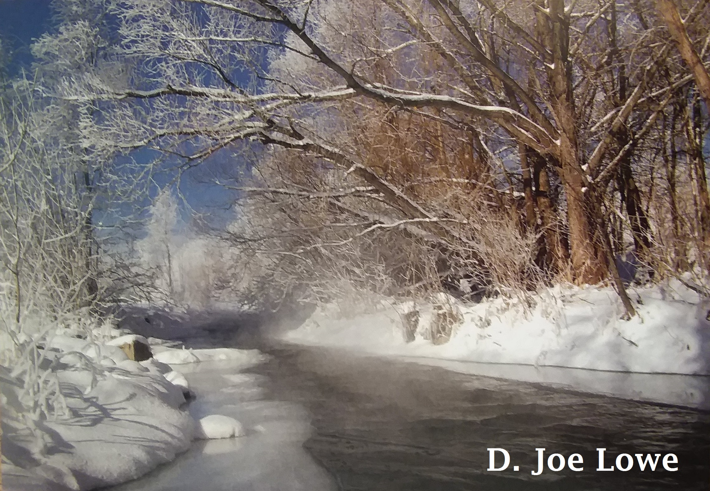 Winter on the Rapid Creek
